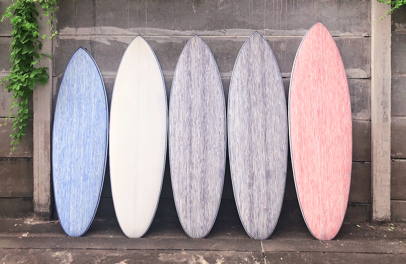 The surfboard, reinvented